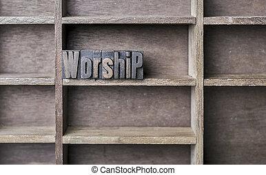 bois, adoration, lettre