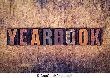 bois, annuaire, concept, type, letterpress