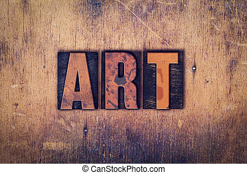 bois, art, concept, type, letterpress