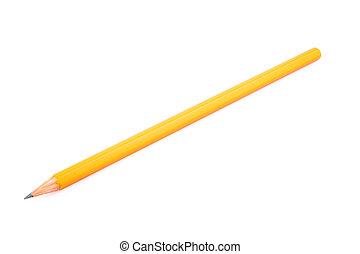 bois, crayon pointu