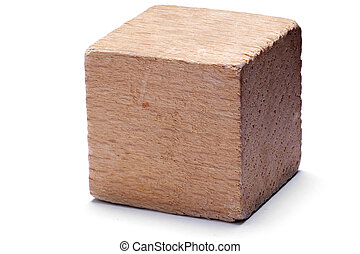 bois, cube