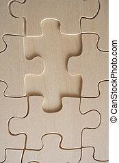 bois, puzzle, 2