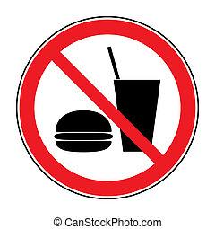 boisson, aucune nourriture