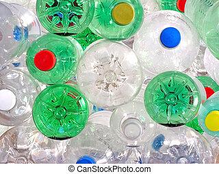 boisson, bouteilles, plastique