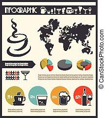 boisson, infographics