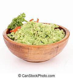 bol, guacamole