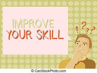 bon, business, très, photo, projection, potentials, écriture, conceptuel, ouvrir, skill., excellent, showcasing, main, maîtrise, ton, améliorer