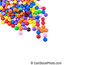 bonbon, multicolore