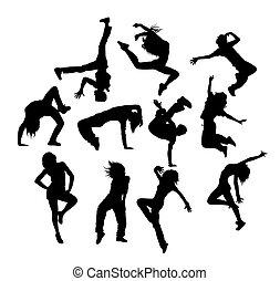 bond branché, danse