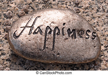 bonheur, rocher