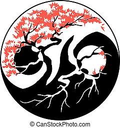 bonsai, yang yin