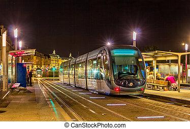 bordeaux, -, aquitaine, tram, france