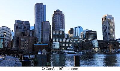 boston, horizon, vue