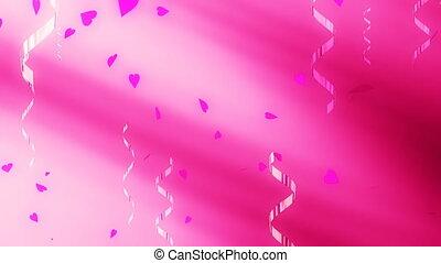 boucle, confetti, amour