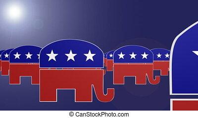 boucle, républicain, symbole