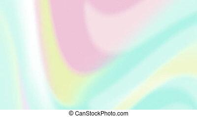 boucle, seamless, vagues, pastel, animation, coloré, lisser, écoulement