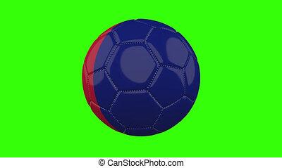 boucle, vert, alpha, transparent, tourne, balle, drapeau, france, fond