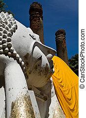 bouddha étendu