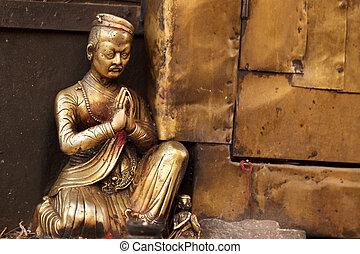 bouddhisme, statue