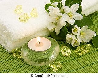 bougie, arôme, aromathérapie