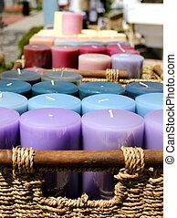 bougies, vente