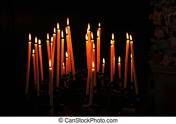 bougies, victime