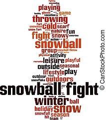 boule de neige, fight-vertical