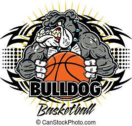 bouledogue, tribal, basket-ball