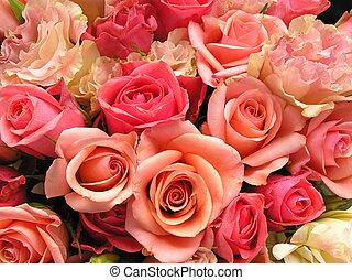 bouquet, romantique