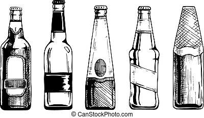 bouteille, bière