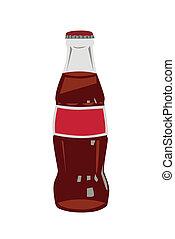 bouteille verre, kola