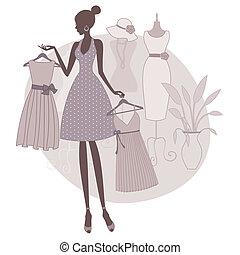 boutique, achats