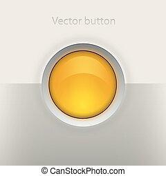 bouton, lustré, vide
