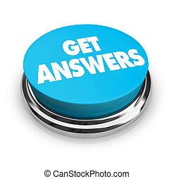 bouton, réponses, obtenir