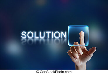bouton, solution