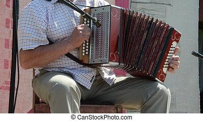 boutons, accordéon