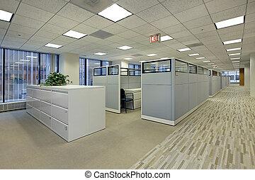 box, bureau, secteur