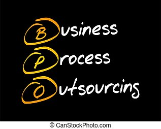 bpo, outsourcing, processus, -, acronyme, business