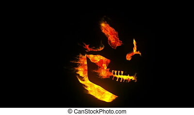brûlé, crâne