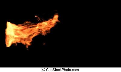 brûler, élément