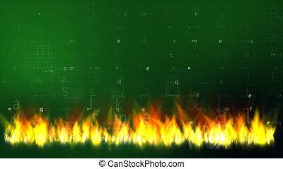 brûler, données