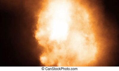 brûler, explosion