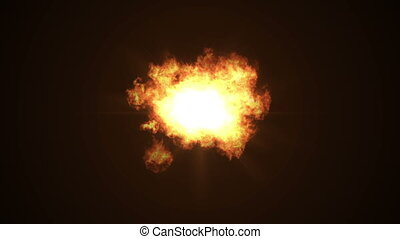 brûler, résumé, explosion