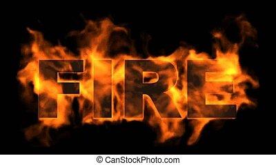 brûler, text., brûlé
