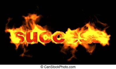 brûler, texte, business, brûlé, reussite