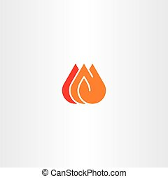 brûler, vecteur, art, agrafe, icône