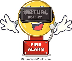 brûler, virtuel, forme, caractère, réalité, reveil