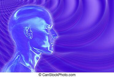 brainwaves, fond, violet