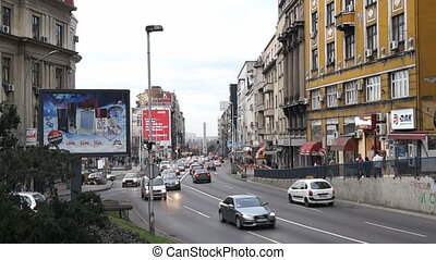 brankova, rue, serbie, belgrade