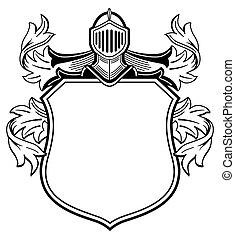 bras, knight's, manteau